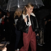 Brie Larson at a Fashion Show in NY