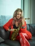 Saxophonist Candy Dulfer