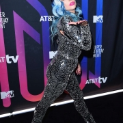 Lady Gaga photocall at AT&T Super Saturday Night 2020